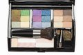Professional Makeup Palette And Brushes Royalty Free Stock Images - 38318759
