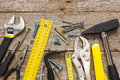 Assorted Work Tools Royalty Free Stock Image - 38325296
