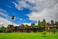 Bayon Temple And Angkor Wat Khmer Complex In Siem Reap, Cambodia Royalty Free Stock Images - 38325419