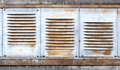 Background With Old Metal Ventilation Grille Stock Photography - 38337682