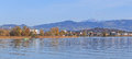 Rapperswil, View On Lake Zurich Royalty Free Stock Photo - 38350335