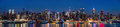New York Midtown Panorama At Dusk Royalty Free Stock Photos - 38364778