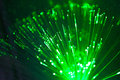 Green Lights Optic Lines Stock Photography - 38372622