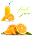 Orange Juice Royalty Free Stock Photo - 38382375