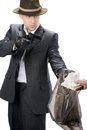Gangster Royalty Free Stock Photo - 38383605