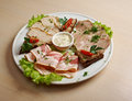 Sliced Meat Stock Photography - 38396002