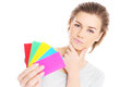 Choosing Colors Royalty Free Stock Image - 38397446