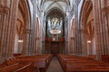 Geneva St Pierre Cathedral Inside With Pews And Organ Royalty Free Stock Photography - 38399867