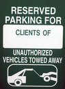 Reserved Parking Stock Photography - 3842362