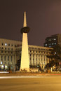 Revolution Square Monument: Bucharest Night Stock Photography - 38406502