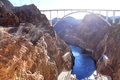 The Hoover Dam And The Bridge In Nevada Stock Images - 38409024