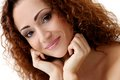 Gorgeous Woman With Beautiful Face Royalty Free Stock Image - 38416236