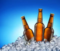 Cool Beer Bottles. Royalty Free Stock Photography - 38425477