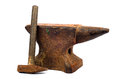 Anvil And Hammer Royalty Free Stock Photography - 38428627