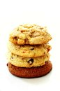 Cookies Stacked In Pile Royalty Free Stock Image - 38433486