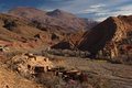Traditional Berbers Village In High Atlas Mountain Stock Image - 38441421
