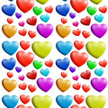 A Seamless Colorful Heart Pattern Royalty Free Stock Images - 38465059