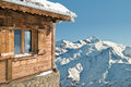 Montain Cottage Stock Image - 38474871