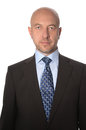 Bald Man In A Suit And Tie Royalty Free Stock Photography - 38492587