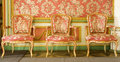Red Victorian Furniture Royalty Free Stock Photos - 3859918