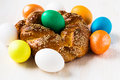 Sweet Easter Bread Stock Images - 38503064