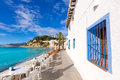 Moraira Playa El Portet Beach  In Alicante Royalty Free Stock Photo - 38585955
