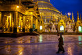 Shwedagon Pagoda Stock Photography - 38592102