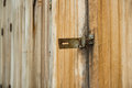 Wooden Door And Latch Royalty Free Stock Photos - 38593398