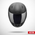 High Quality Light Gray Motorcycle Helmet Vector Royalty Free Stock Photo - 38618425
