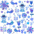 Vector Cute Seamless Pattern Stock Photography - 38627362