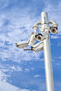 Security Cameras Royalty Free Stock Images - 38634469