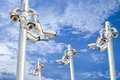 Security Cameras Royalty Free Stock Image - 38634476