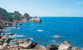 Blue Sky In Costa Paradiso Royalty Free Stock Images - 38647159