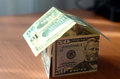 House Made ​​of Money Royalty Free Stock Photos - 38654098