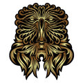 Face Forest Spirit Mask Royalty Free Stock Image - 38660526