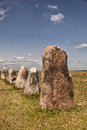 Ancient Standing Stones Royalty Free Stock Image - 38662986