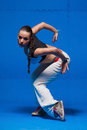 Young Dancer In Movement Royalty Free Stock Photo - 38670005