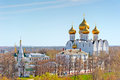View Urban Architecture Of Yaroslavl From Above Royalty Free Stock Images - 38681339