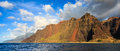 Napali Coast Mountains Royalty Free Stock Photos - 38711088
