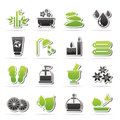 Spa And Relax Objects Icons Royalty Free Stock Photos - 38728678