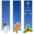 Christmas Vertical Banners Royalty Free Stock Image - 38733496