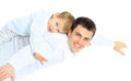 Portrait Of Happy Father And Son. Royalty Free Stock Photo - 38738185