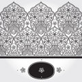 Vintage Seamless Border With Lacy Ornament. Stock Photography - 38747672