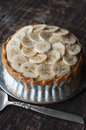 Banana Tart Stock Photo - 38755060