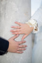 Wedding Hands Royalty Free Stock Photos - 38755538