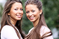 Two Sisters Young Women Royalty Free Stock Photo - 38761685