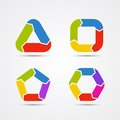 Modern  Circle Arrows For Info Graphic Royalty Free Stock Images - 38761779