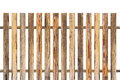 Wood Fence Made From Old Planks Stock Photo - 38775750