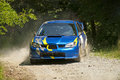Rally Car In Action Stock Images - 38789584