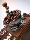 Coffee-grinder Royalty Free Stock Photos - 3881318